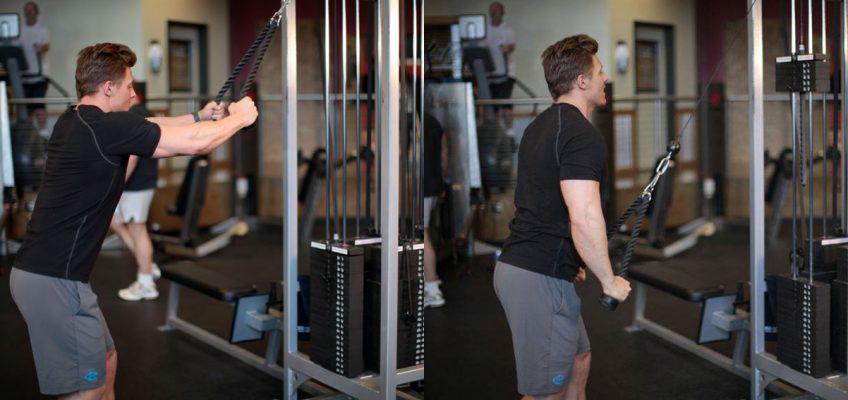آموزش حرکت زیر بغل سیمکش دست صاف